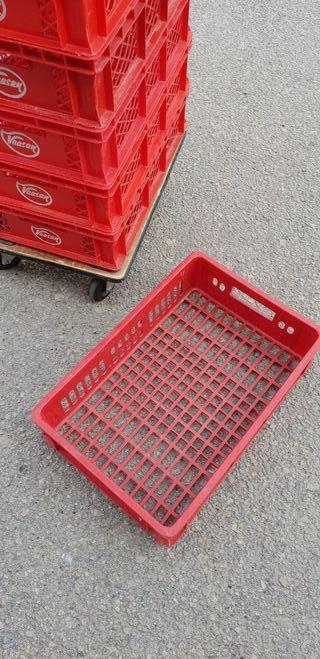 9 x cajas de plástico / contenedores multiusos