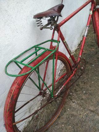 bicicleta varillas orbea antigua
