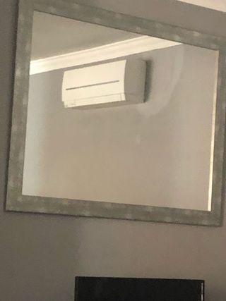 Espejo Espejo plateado