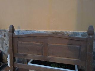 cabecero de cama madera maziza
