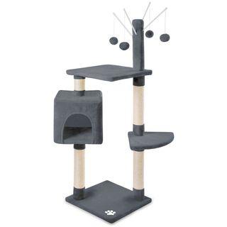 Rascador centro de juegos gatos 118cm
