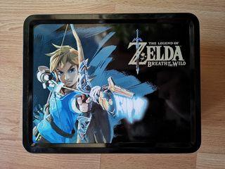 Caja de metal lunchbox Zelda Breath of the Wild