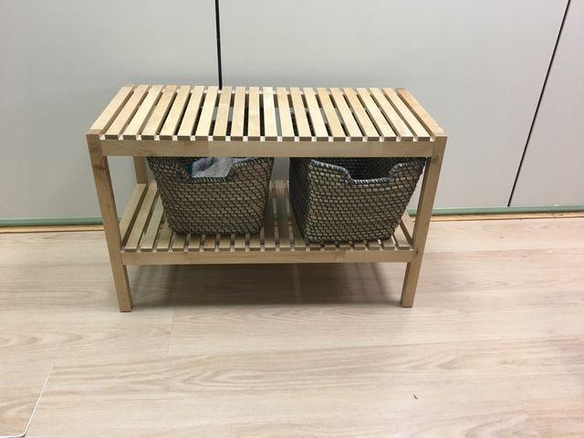 Mueble Baño Ikea Con Cestas De Segunda Mano Por 50 En