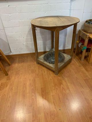 Mesa camilla con brasero