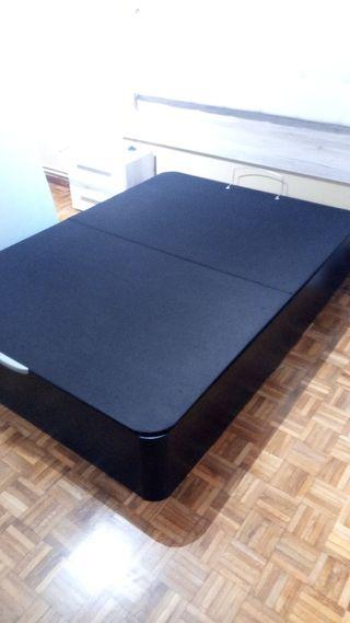 Colchón y canapé 135x190 SOMNALIS Premium FARMAPUR