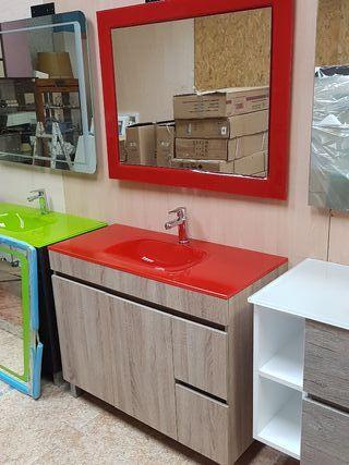 Mueble de baño 100x45 mod M87