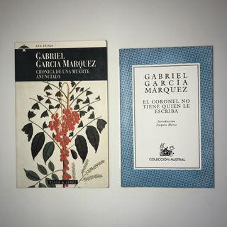 LIBROS GARCÍA MÁRQUEZ