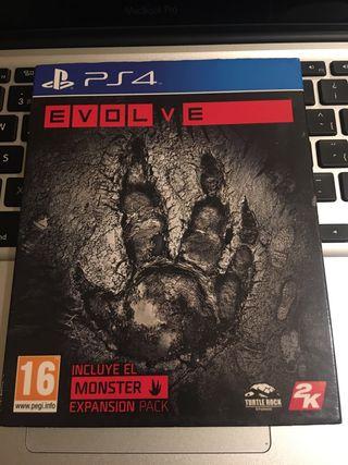 Juego PS4 Evolve