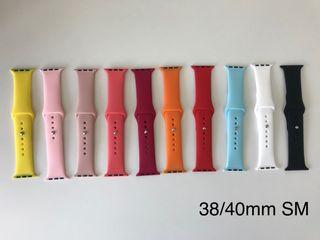 Correas Apple Watch Nuevas Silicona 38/40mm