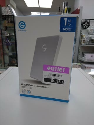 HDD G Drive Mobile USB-C 1TB