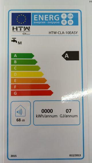 Calentador GAS HTW 10 Litros CLA-10EASY