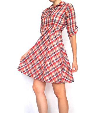 Auténtico Vestido Vintage 60-70's USA