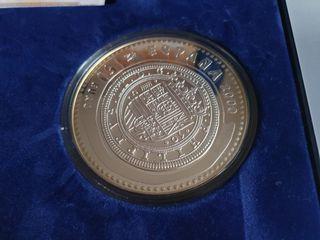 Moneda 2009 joyas numismáticas, cincuentin