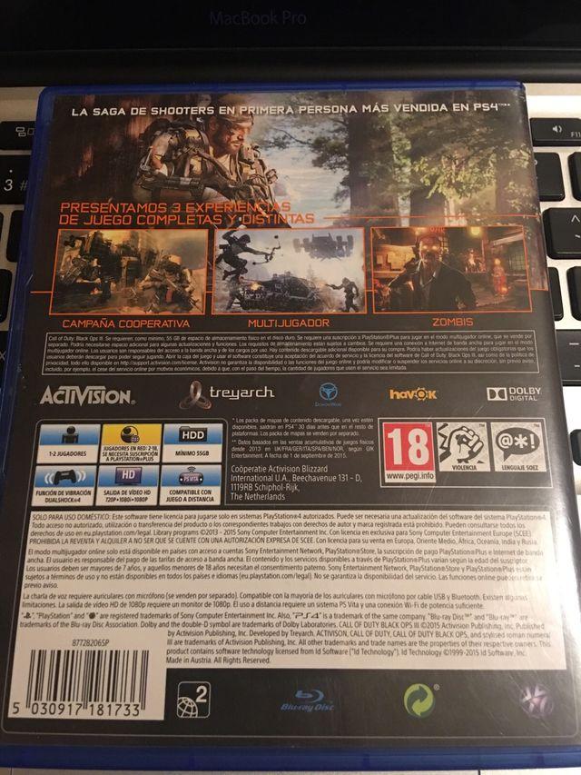 Juego PS4 Call Of Duty III (3)