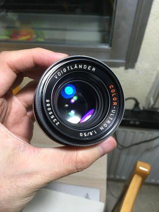 Voigtlander color ultron 50mm 1.8