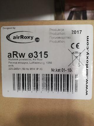 extractor industrial nuevo 95 watios