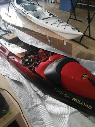 Kayak Pesca Víking Profish Reload Torqeedo