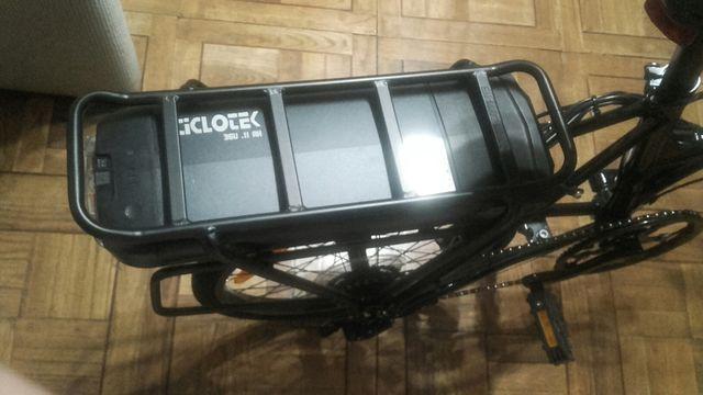 bicicleta giant Express way 2 eléctrica y plegable