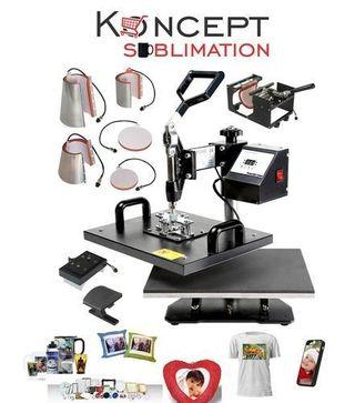 máquina de sublimacion para negocios tiendas fotog
