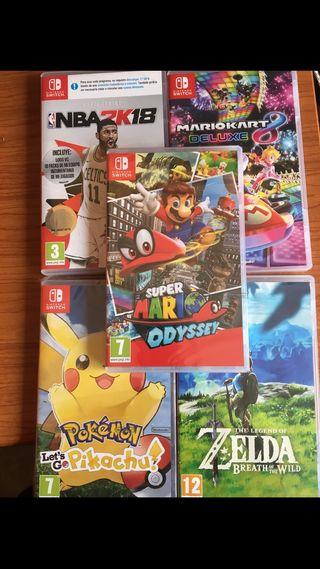 Juegos como nuevos Súper Mario precintado