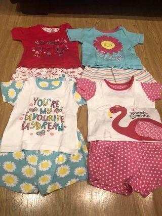 Pijamas verano (4 a 6 meses)