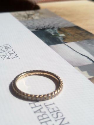 Anillo Cartier Étincelle oro amarillo y diamantes
