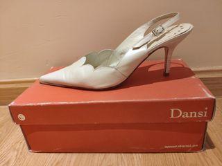 Zapatos de novia marca Dansi talla 39