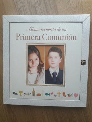 Libro/album Primera Comunión