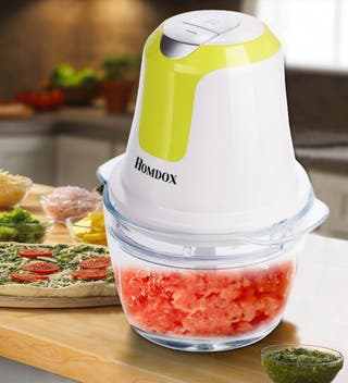 Licuadora Homdox con procesador de alimentos