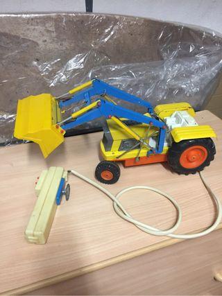 Antiguo juguete Tractor CLIM tele dirigido