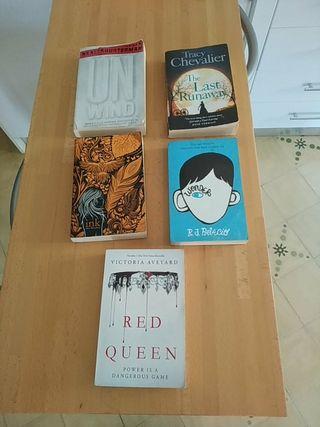 libros ingles english B1, B2, C1, C2 wonder unwind