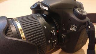 Cámara Reflex Canon EOS 60D (pack o por separado)