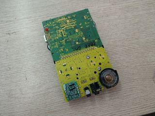 Nintendo game boy placa CPU (tested)
