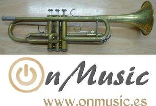 Trompeta Sib Bach Tr 300 deslacada en buen estado