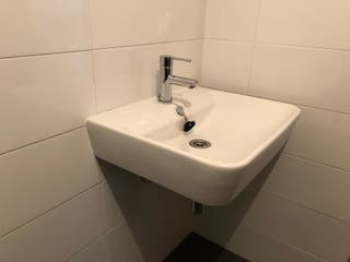 Lavabo baño suspendido