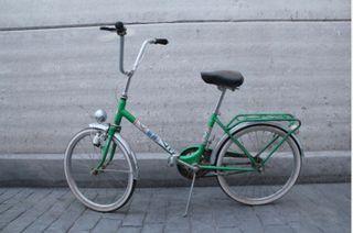 BH plegable verde