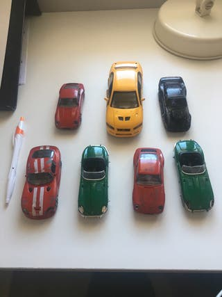 Coches colección juguetes maqueta