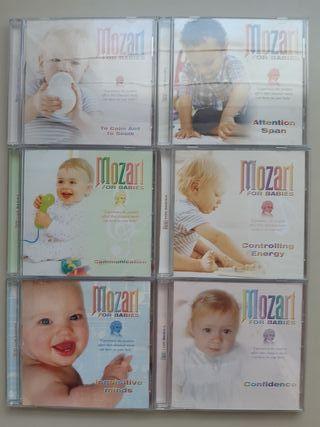 Colección 12 CDs Mozart para bebés