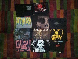 Lote de camisetas