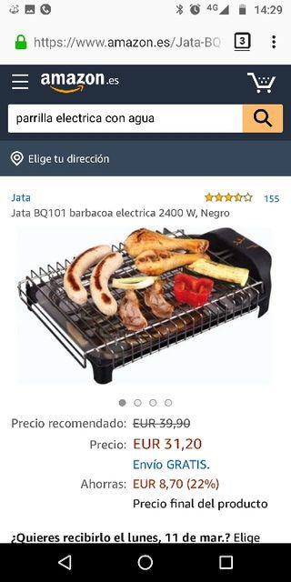 (2x1cosas5€) Barbacoa electrica Parrilla