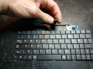 Mini teclado USB micro