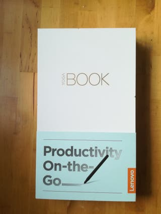 Lenovo yoga book 2 in 1 carbon black