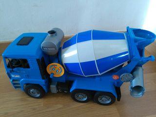 Camión hormigonera, juguete.