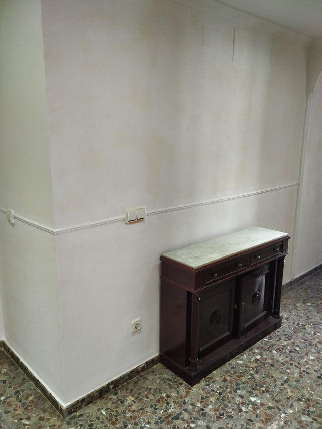 mueble recibidor con mármol
