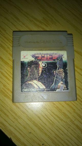 Contra Game Boy Clasica.