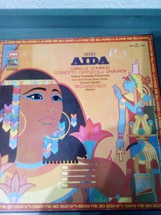 Vinilo Opera Giuseppe Verdi Aida