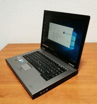 Portatil Toshiba Core 2 Duo, 4 Gb, Nvidia
