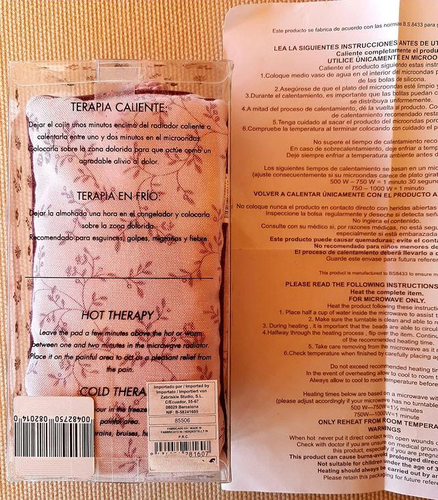 Cojin cervical y antifaz