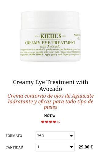 Contorno de ojos Kiehl's