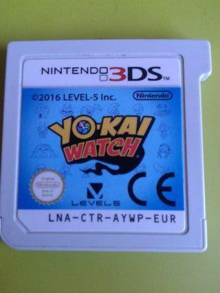 Juego 3DS YO-KAI WATCH